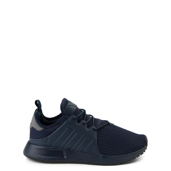 adidas X_PLR Athletic Shoe - Big Kid - Navy Monochrome