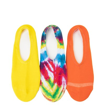 Main view of Womens Converse Tie Dye Liners 3 Pack