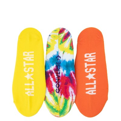 Alternate view of Womens Converse Tie Dye Liners 3 Pack