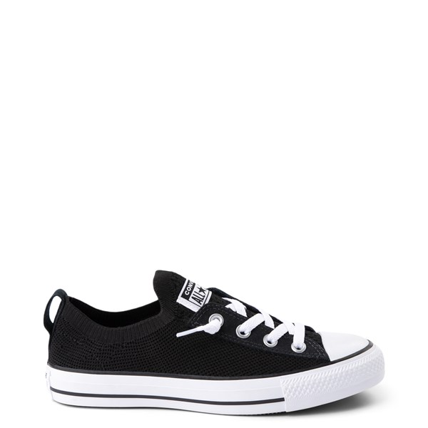 Womens Converse Chuck Taylor All Star Lo Shoreline Knit Sneaker - Black