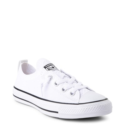 Alternate view of Womens Converse Chuck Taylor All Star Lo Shoreline Knit Sneaker - White