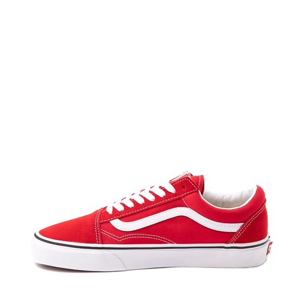 alternate image alternate view Vans Old Skool Skate Shoe - Racing RedALT1