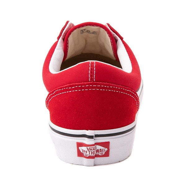 alternate image alternate view Vans Old Skool Skate Shoe - Racing RedALT4