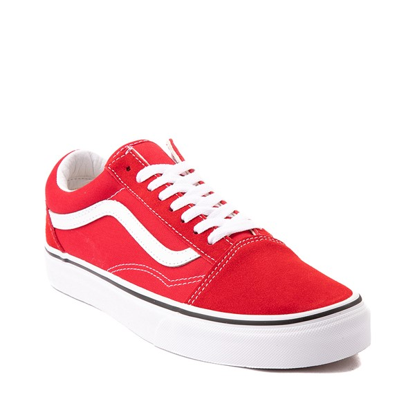 alternate image alternate view Vans Old Skool Skate Shoe - Racing RedALT5
