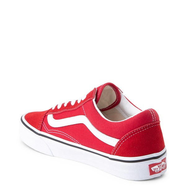 alternate image alternate view Vans Old Skool Skate Shoe - Racing RedALT2