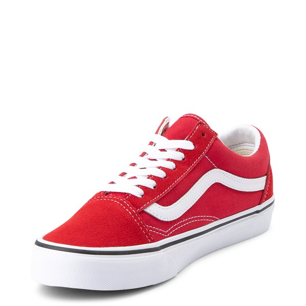 alternate image alternate view Vans Old Skool Skate Shoe - Racing RedALT3