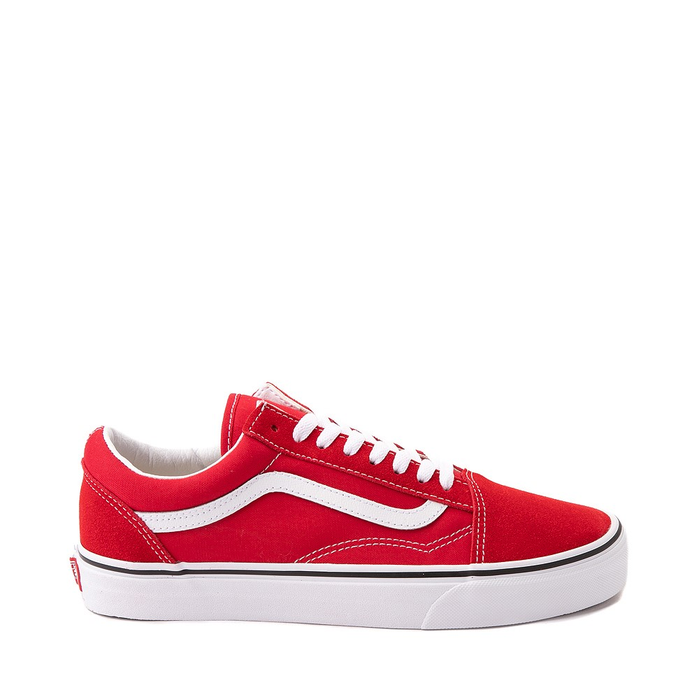 Vans Old Skool Skate Shoe - Racing Red
