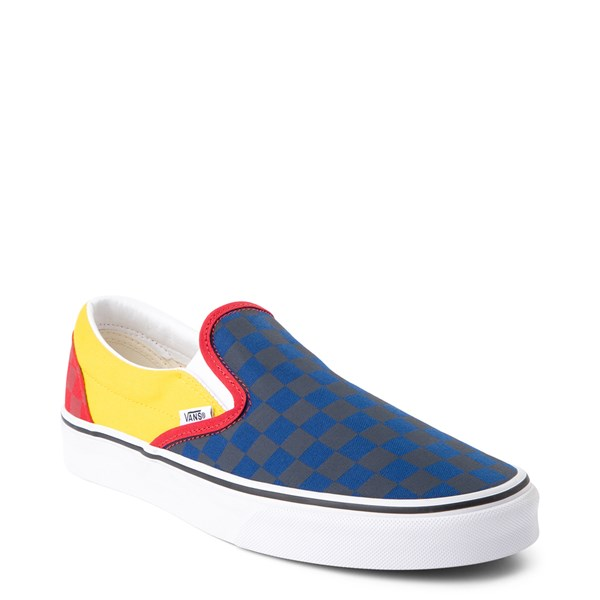 alternate image alternate view Vans Slip On OTW Rally Chex Skate ShoeALT1