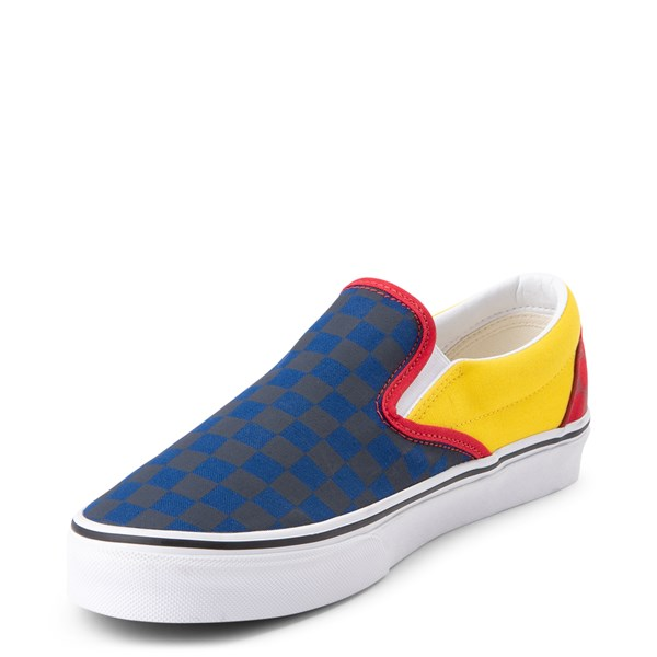 alternate image alternate view Vans Slip On OTW Rally Chex Skate ShoeALT3
