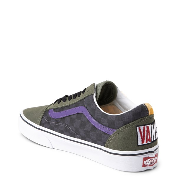 alternate image alternate view Vans Old Skool OTW Rally Chex Skate ShoeALT2