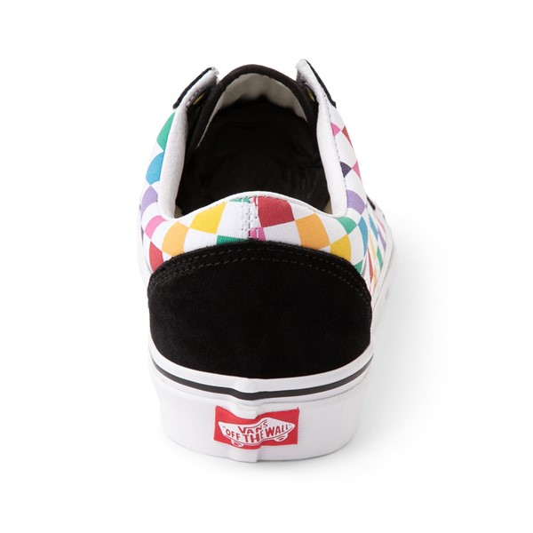alternate image alternate view Vans Old Skool Rainbow Checkerboard Skate ShoeALT4