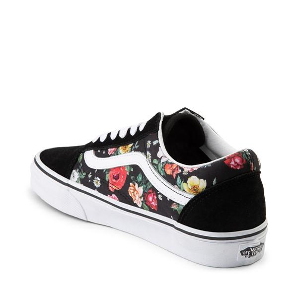 alternate image alternate view Vans Old Skool Garden Floral Skate Shoe - BlackALT1