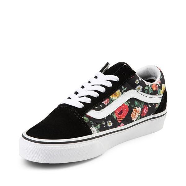 alternate image alternate view Vans Old Skool Garden Floral Skate Shoe - BlackALT2