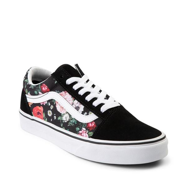 alternate image alternate view Vans Old Skool Garden Floral Skate Shoe - BlackALT5