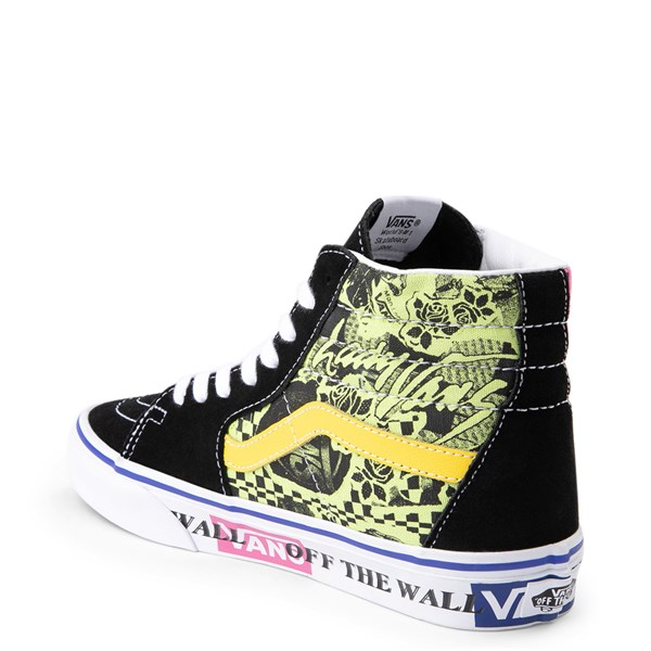 alternate image alternate view Vans Sk8 Hi Lady Vans Skate ShoeALT2