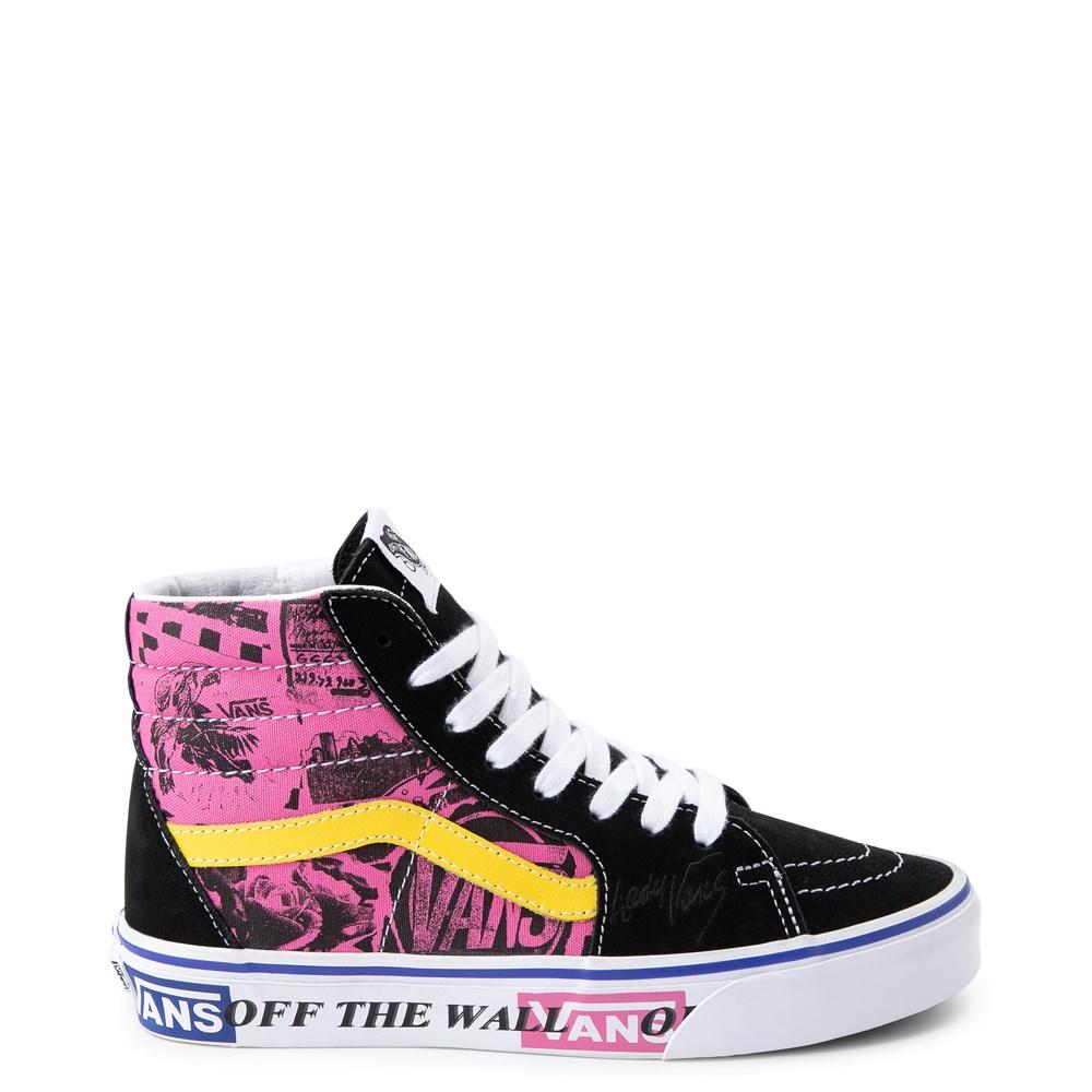 Vans Sk8 Hi Lady Vans Skate Shoe
