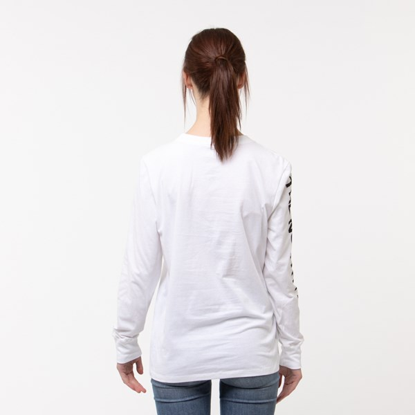 alternate image alternate view Womens The North Face Brand Proud Long Sleeve Tee - WhiteALT1