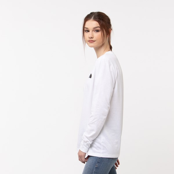 alternate image alternate view Womens The North Face Brand Proud Long Sleeve Tee - WhiteALT2