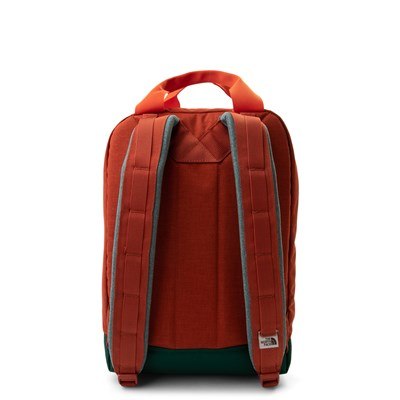 Alternate view of The North Face Tote Backpack - Picante Red / Dark Night Green
