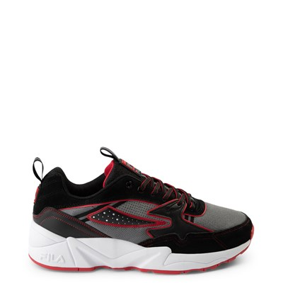 Main view of Mens Fila Mindblender x V94M Athletic Shoe - Black / Grey / Red