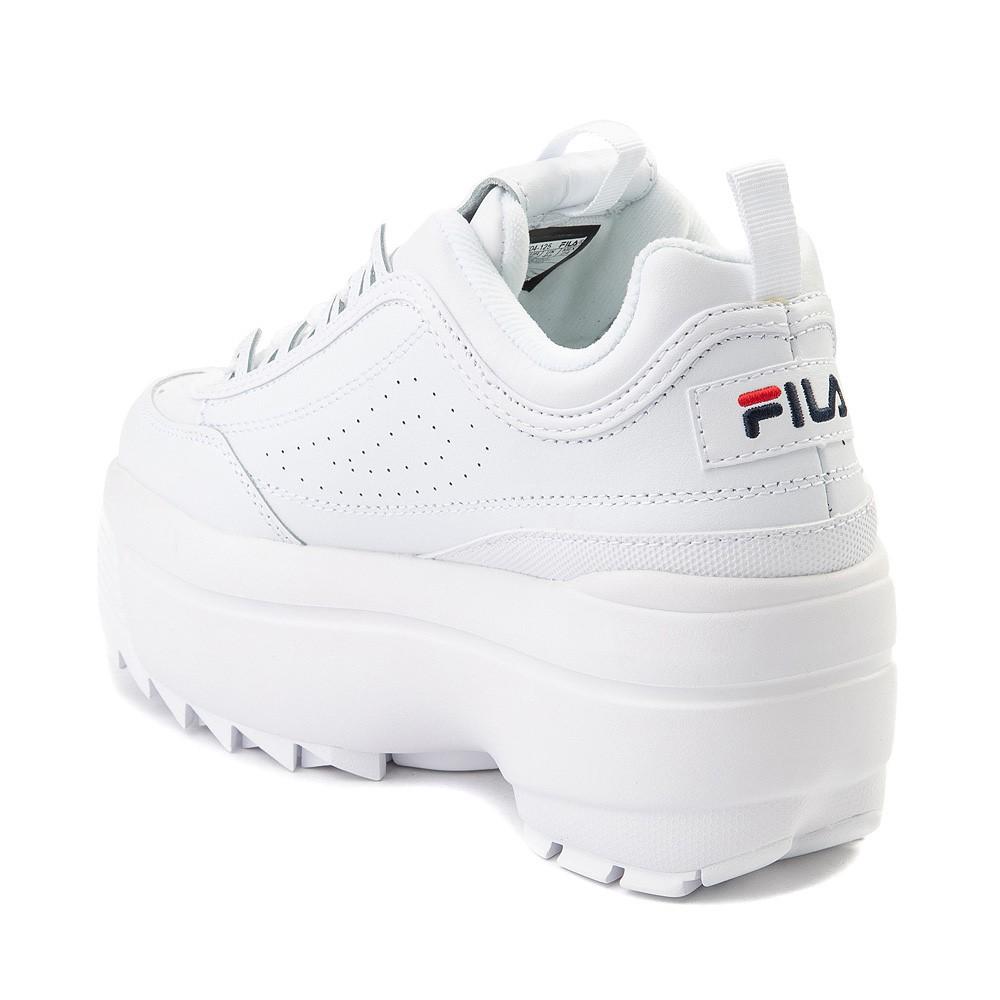 Womens Fila Disruptor Wedge Athletic Shoe
