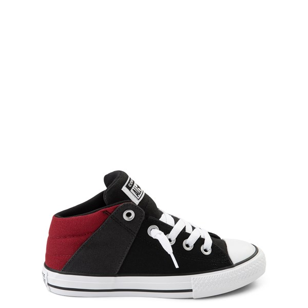 Converse Chuck Taylor All Star Axel Mid Sneaker - Little Kid / Big Kid - Black / Brick