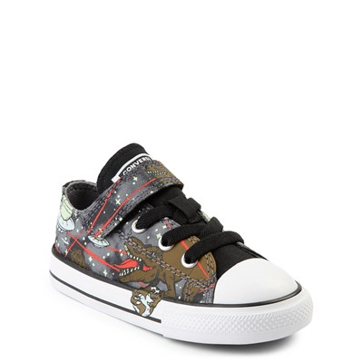 Alternate view of Converse Chuck Taylor All Star Lo Dinoverse Sneaker - Baby / Toddler