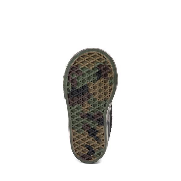 alternate image alternate view Vans Sk8 Mid Reissue V Skate Shoe - Baby / Toddler - Black / CamoALT3