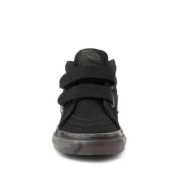 alternate image alternate view Vans Sk8 Mid Reissue V Skate Shoe - Baby / Toddler - Black / CamoALT4