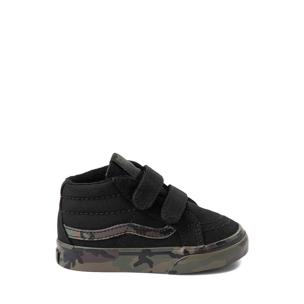 Vans Sk8 Mid Reissue V Skate Shoe - Baby / Toddler - Black / Camo