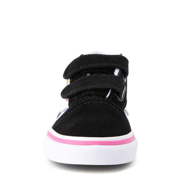 alternate image alternate view Vans Old Skool Checkerboard Skate Shoe - Baby / ToddlerALT4