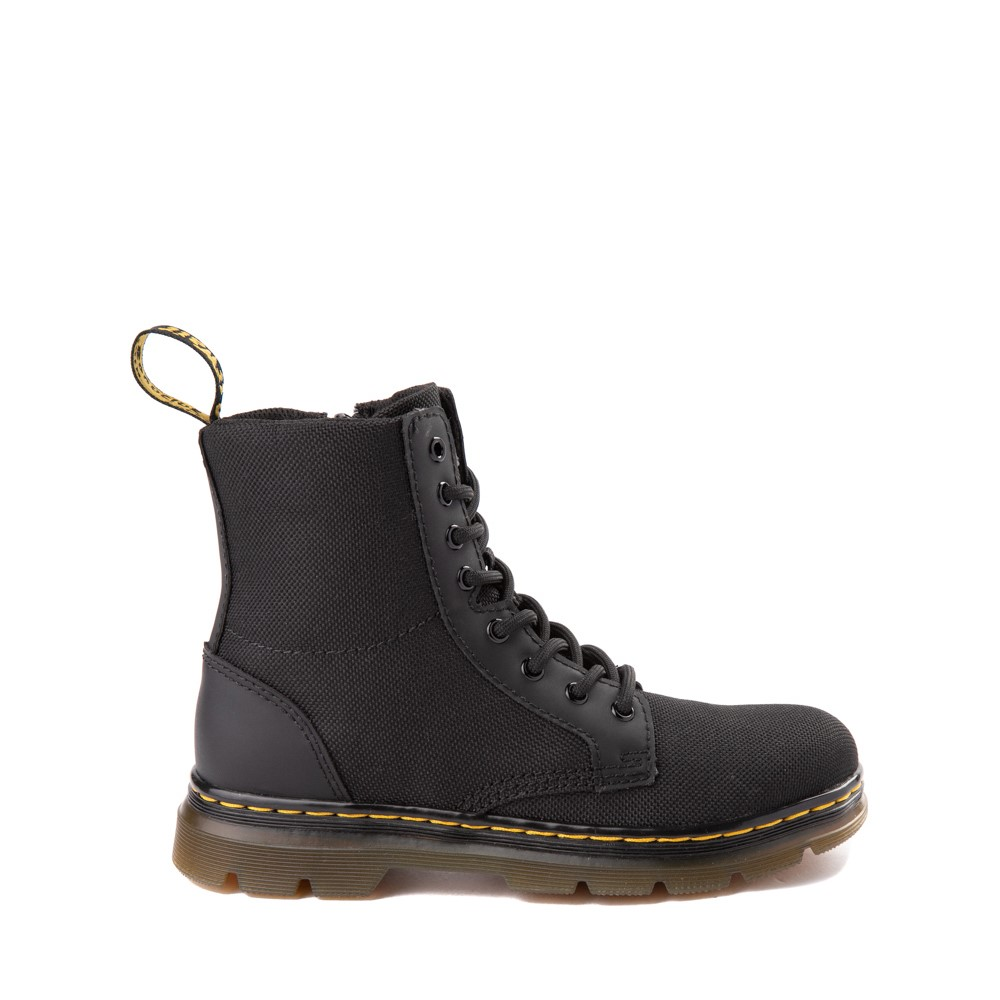 Dr. Martens Combs Boot - Big Kid - Black