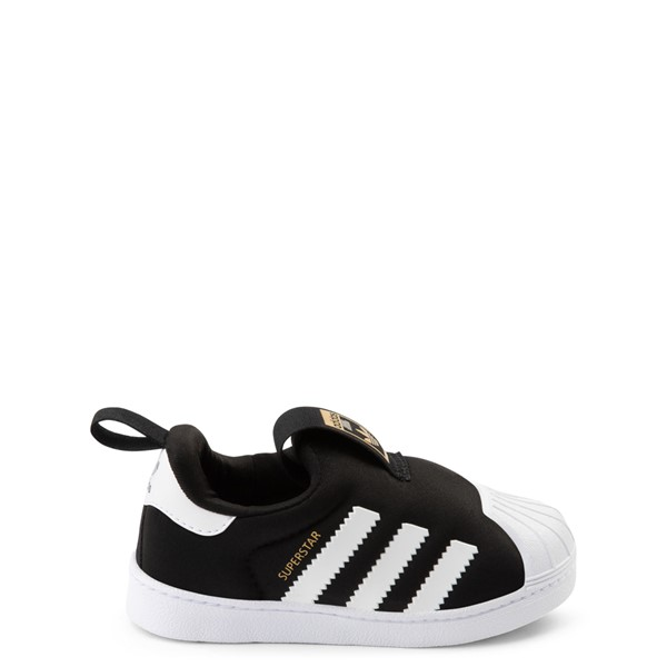 Main view of adidas Superstar 360 Slip On Athletic Shoe - Baby / Toddler - Black