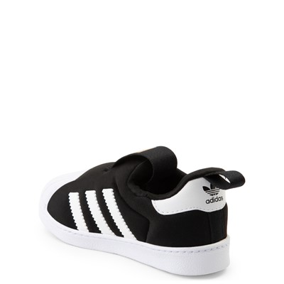 Alternate view of adidas Superstar 360 Slip On Athletic Shoe - Baby / Toddler - Black