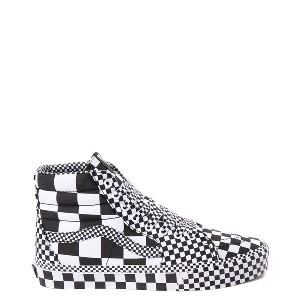 Main view of Vans Sk8 Hi Allover Checkerboard Skate Shoe