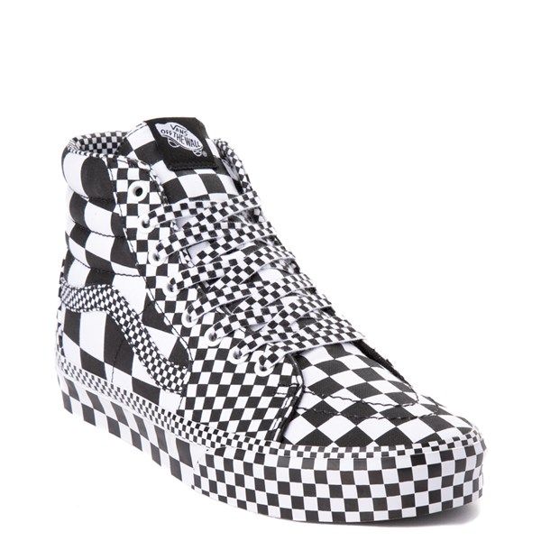 alternate image alternate view Vans Sk8 Hi Allover Checkerboard Skate ShoeALT1