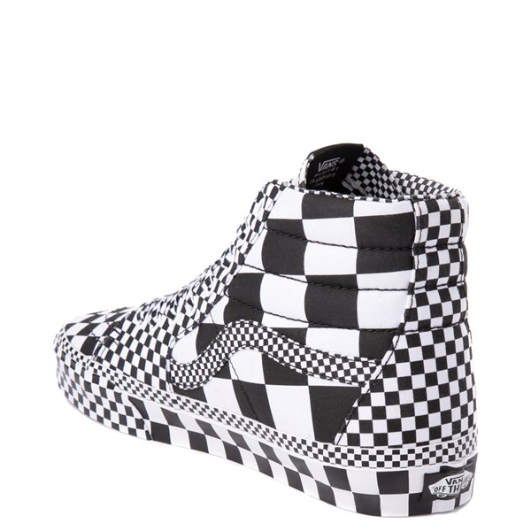 alternate image alternate view Vans Sk8 Hi Allover Checkerboard Skate ShoeALT2