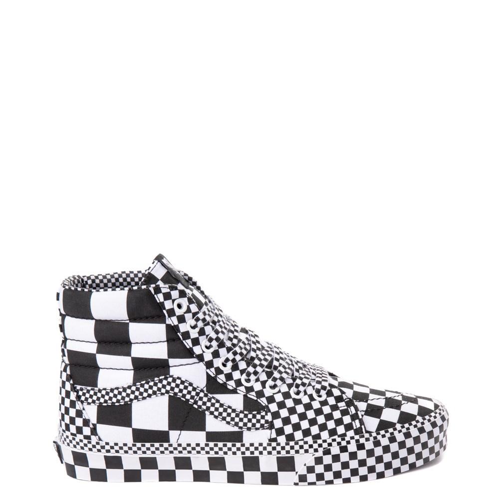 Vans Sk8 Hi Allover Chex Skate Shoe