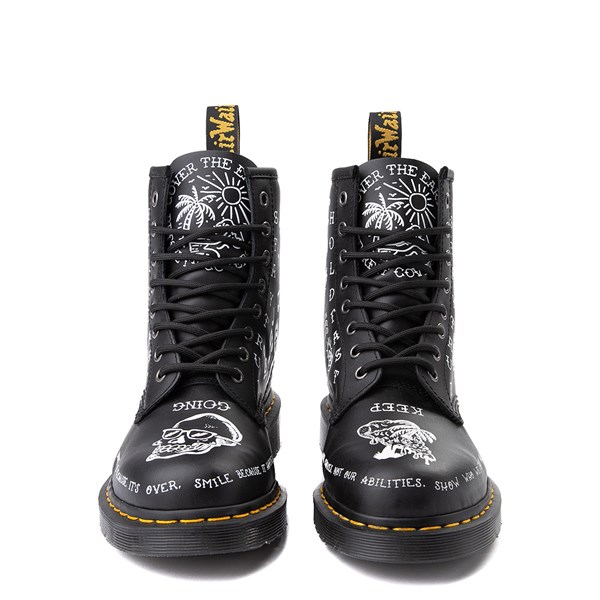 alternate image alternate view Dr. Martens 1460 8-Eye Scribble BootALT4