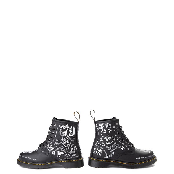 alternate image alternate view Dr. Martens 1460 8-Eye Scribble BootALT8