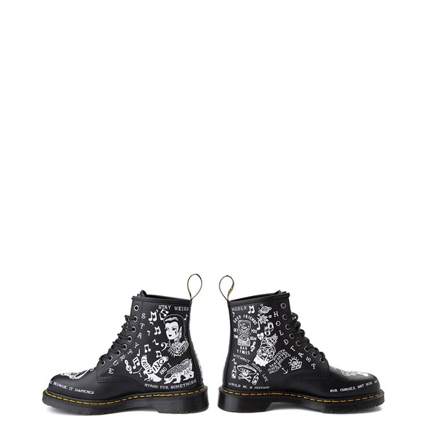 alternate image alternate view Dr. Martens 1460 8-Eye Scribble BootALT9