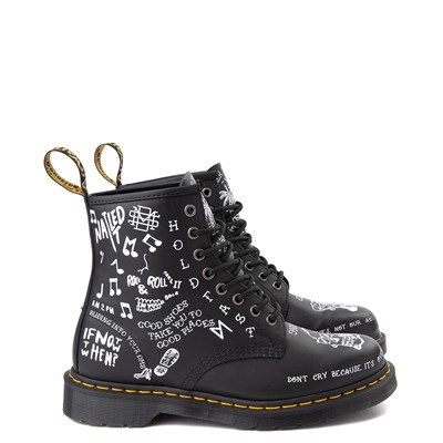 Main view of Dr. Martens 1460 8-Eye Scribble Boot