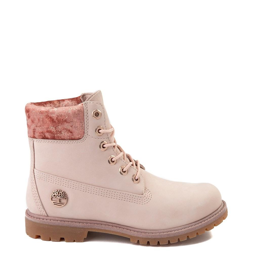 """Womens Timberland 6"""" Premium Velvet Collar Boot"""