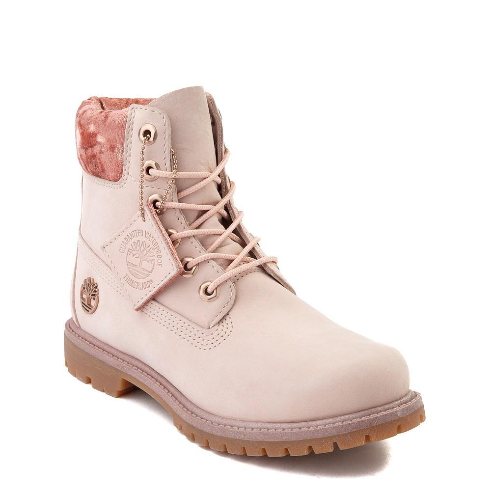 Premium Velvet Collar Boot