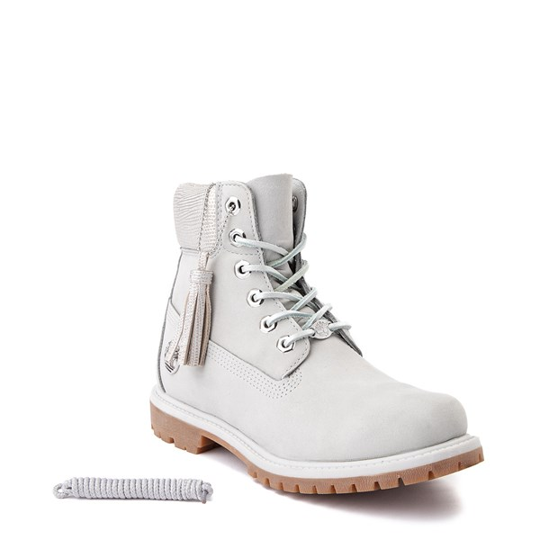 "alternate image alternate view Womens Timberland 6"" Premium Metallic Collar BootALT1"