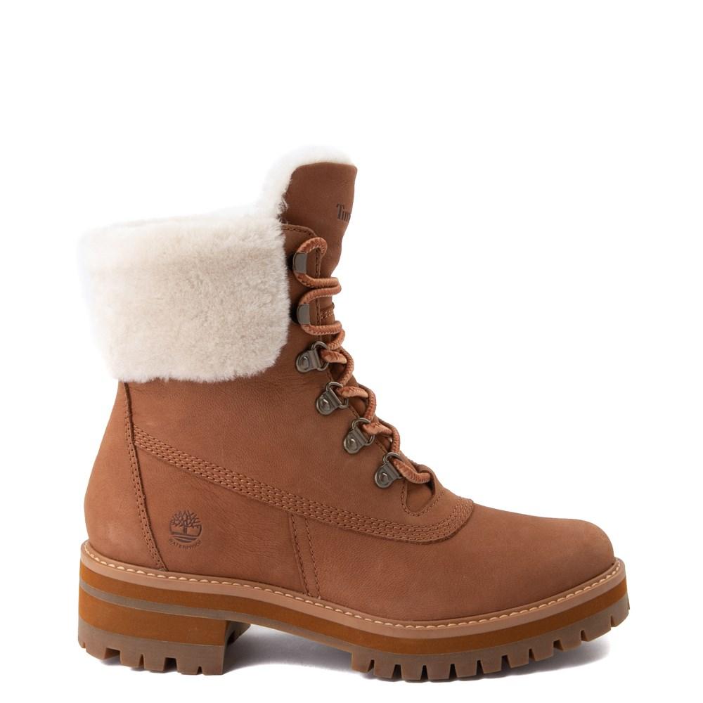 Womens Timberland Courmayeur Valley Shearling Boot