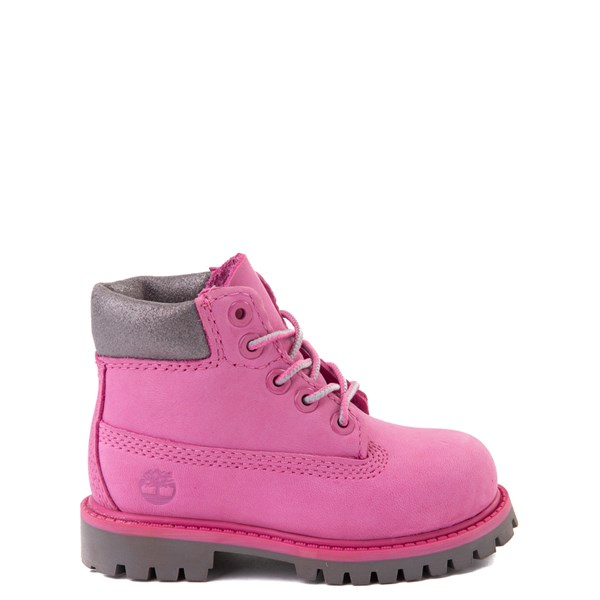 "Timberland 6"" Classic Boot - Toddler / Little Kid - Ibis Rose / Grey"