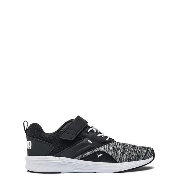 Puma NRGY Comet Athletic Shoe - Little Kid - Black / Grey