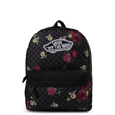 Main view of Vans Realm Flowercheck Backpack