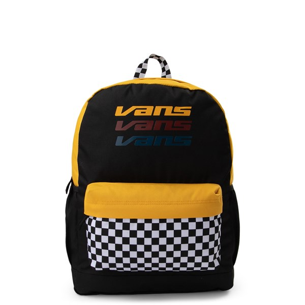 Main view of Vans Sporty Realm Checkerboard Backpack